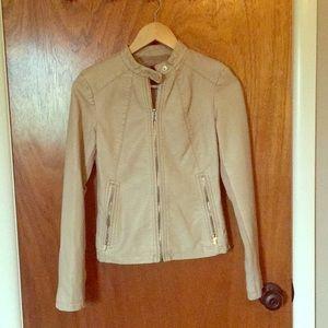 Faux leather express jacket size XS